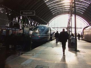 フランクフルトの駅の写真・画像素材[1815945]
