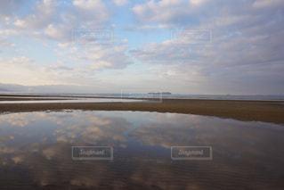 自然,海,空,朝日,雲,海岸,早朝,朝活