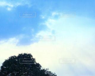 雲間の光の写真・画像素材[2419300]