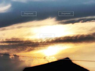 夕日の写真・画像素材[2419374]