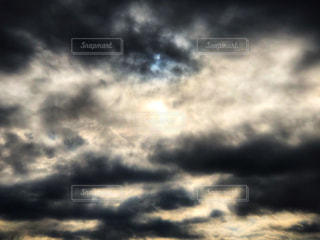 暗雲の写真・画像素材[2419400]