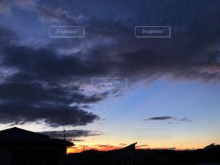 夕焼けの空の写真・画像素材[2420681]