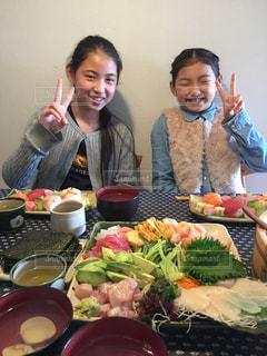 家族,ごはん,パーティー,ごちそう,手巻き寿司