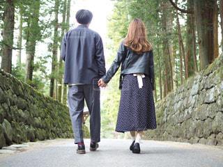 森の中をお散歩の写真・画像素材[1119536]