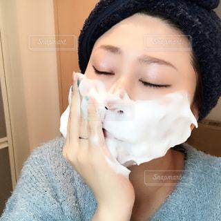 泡洗顔の写真・画像素材[976454]