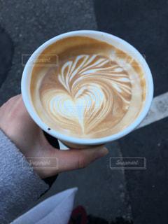 一杯のコーヒーの写真・画像素材[1147079]
