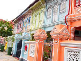 カラフル,優しい,旅行,シンガポール,ハウス,可愛い,パステル