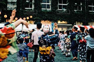 盆踊りの写真・画像素材[1361850]