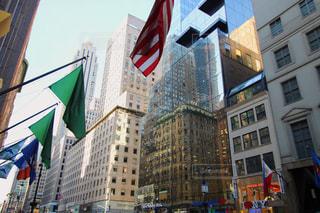 ニューヨーク,街並み,ビル,アメリカ,旅行,国旗,NY,海外旅行,五番街