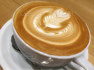 カフェ,ラテアート,休日,ラテ,まったり