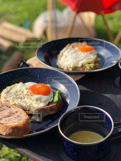 Breakfast in Camp!!の写真・画像素材[1175650]