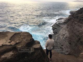 夕日,景色,ハワイ,Hawaii