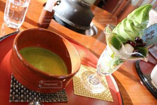 抹茶,日差し,アイス,ソフトクリーム