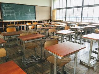 学校の教室の写真・画像素材[988038]
