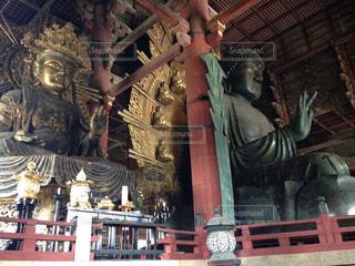 東大寺の大仏の写真・画像素材[1027771]