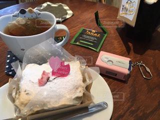 スイーツ,ケーキ,デザート,お茶,休日,トイカメラ