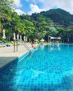 プール,休日,プールサイド,お出かけ,スイミング,休日の過ごし方
