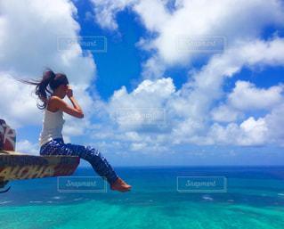 ラニカイビーチのピルボックスの写真・画像素材[1003942]