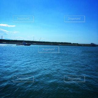 自然,海,青,船