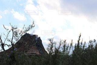 風景,ディズニーシー,火山