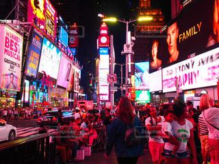アメリカ,光,街灯,タイムズスクエア