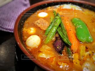 鮮やか,野菜,横浜,カレー,レストラン,外食,辛い,スープカレー