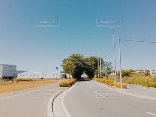 空の道の写真・画像素材[1239458]