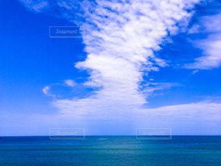 海から伸びているのかの写真・画像素材[1098133]