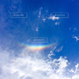 空には雲のグループの写真・画像素材[991470]