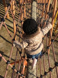 公園,子供,遊び,休日