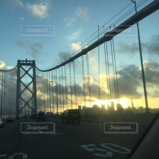 サンフランシスコの橋の写真・画像素材[997025]