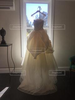 ウエディングドレスの写真・画像素材[1010701]
