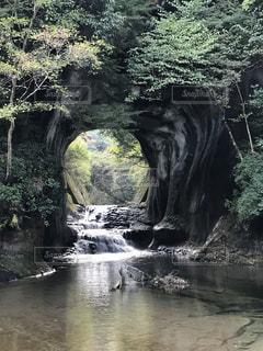 農溝の滝の写真・画像素材[1030173]