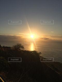 朝日,ハワイ,ダイヤモンドヘッド