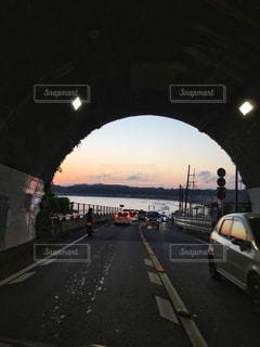 トンネルを抜けると...大好きな景色の写真・画像素材[1016168]