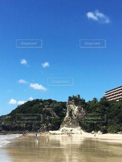 伊豆の綺麗な海の写真・画像素材[1033873]