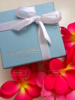 花,アクセサリー,水色,プレゼント,結婚指輪,造花,ブライダル,りぼん