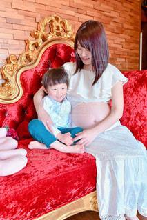 女性,親子,男の子,兄弟,出産,妊婦,母の日,ママ,お母さん,ゴージャス,マタニティー