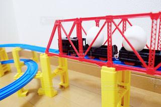 たまご列車の写真・画像素材[1198759]