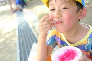 夏といえばかき氷の写真・画像素材[1367023]