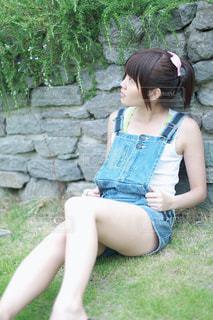 夏と私の写真・画像素材[1392798]