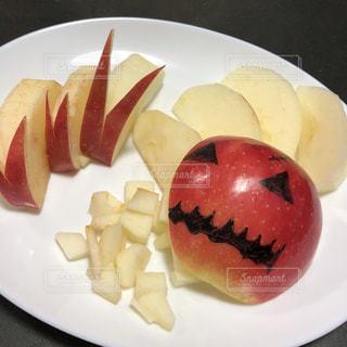 フルーツ,果物,おやつ,アップル,ハロウィン,りんご,林檎