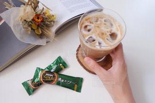 ネスカフェスティックコーヒー『贅沢カプチーノ』でおうちcafeの写真・画像素材[1290644]