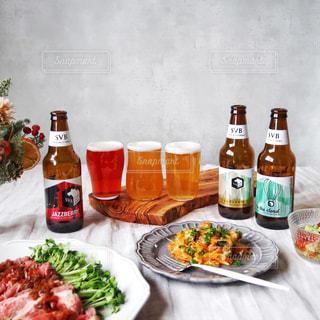 スプリングバレーブルワリーに合うおつまみで飲み比べ晩酌timeの写真・画像素材[2819078]