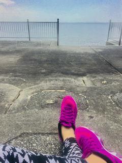 夏,ビーチ,ウォーキング,沖縄,okinawa,トレーニング,ダイエット