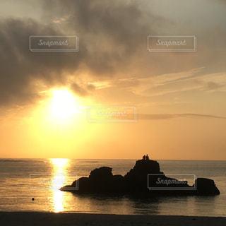 自然,空,沖縄,夕陽,sunset,アラハビーチ,okinawa