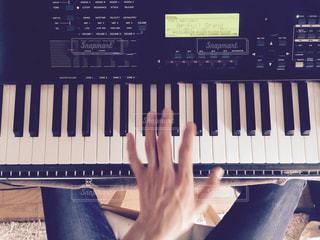 ピアノ,楽器,音楽,休日,インドア,キーボード,シンセサイザー