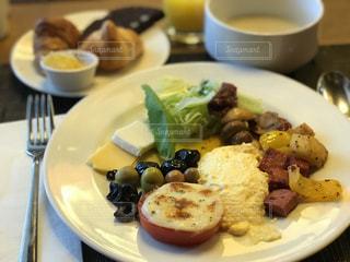 トルコのホテルの朝食の写真・画像素材[1145795]