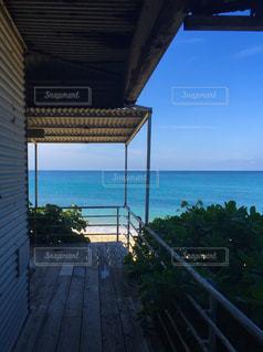 沖縄の海辺のホテルからの写真・画像素材[1328751]