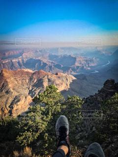 グランドキャニオンからの眺めの写真・画像素材[1417989]